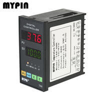 MYPIN Temperature Controller Dual 4 LED Thermostat PID Heating Cooling Control TC/RTD Input SSR Output 1 Relay Alarm 90 260V