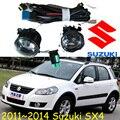 car-styling,SX4 halogen light,2011~2014,Free ship!2pcs,SX4 fog light;car-covers,Chrome,SX4 headlight,Swift, SX 4