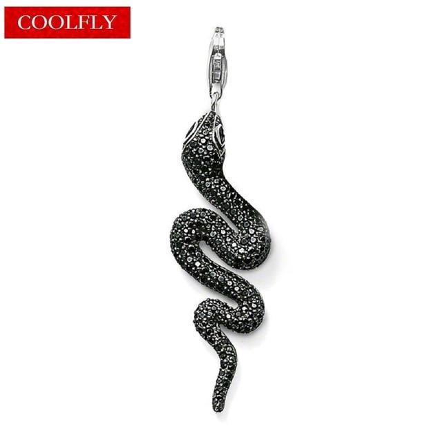Vintage black zirconia snake pendants european style retro rebel vintage black zirconia snake pendants european style retro rebel necklaces accessories making jewelry for women gifts aloadofball Images