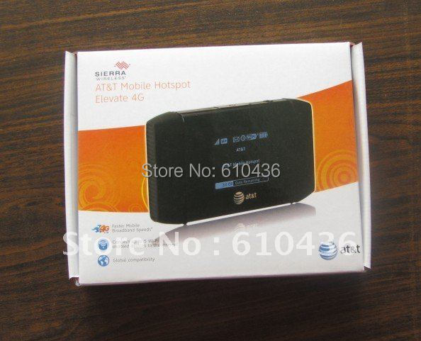 freeshipping unlocked sierra wireless 754S 3G 4G mobile WIFI AT&T hotspot HSPA+  100mbps for tablet comput  phone ipad freeshipping rs232 to zigbee wireless module 1 6km cc2530 chip