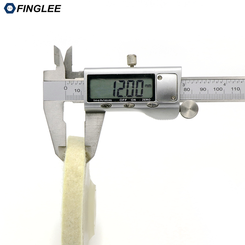 FINGLEE 10 pz 4 pollici lana feltro lucidatura ruota smerigliatrice - Utensili elettrici - Fotografia 3