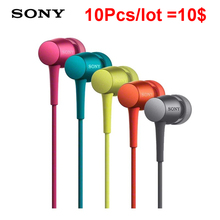 10pcs/lot wholesale  In-ear Noise Canceling Earphone 750 Headphone Portable Sport Headset Bass Hifi Earbuds with mic for iPhone
