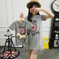 2016 summer style mother daughter dresses family look clothing mom and daughter dress Cotton babymmclothes mommy and me clothes