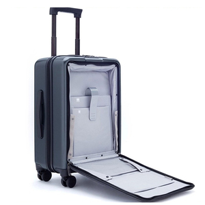 """Image 2 - נסיעות סיפור 20 """"אינץ גברים לשאת על נייד קטן נסיעות מזוודת עגלת בקתה מקרה תיבת מטען מחשב טהור"""