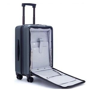 Image 2 - Conte de voyage, boîte à bagages pour hommes, 20 pouces, avec ordinateur portable, petite cabine valise de voyage boîtier de chariot, boîte à bagages PC pur