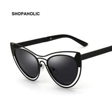 Vintage Cat Eye Sunglasses Luxury Fashion Pink Women Sunglasses Mirror Rose Gold Sun Glasses for Women Oculos De Sol UV400