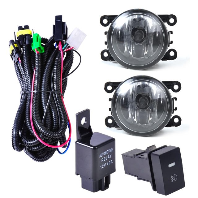 online shop citall wiring harness sockets switch 2 h11 fog ford f-250 fog light wiring harness citall wiring harness sockets switch 2 h11 fog lights lamp 4f9z 15200 aa for ford focus mustang honda cr v acura tsx nissan