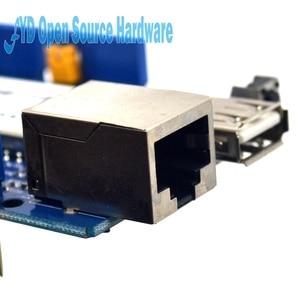 Image 3 - 1pcs Yun Scudo V1.6 Linux WiFi Ethernet USB Progetto per arduino
