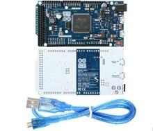 A Estrenar DEBIDO R3 SAM3X8E 32-bit ARM Cortex-M3 Junta Módulo de Control Para Arduino USB con Cable de Datos
