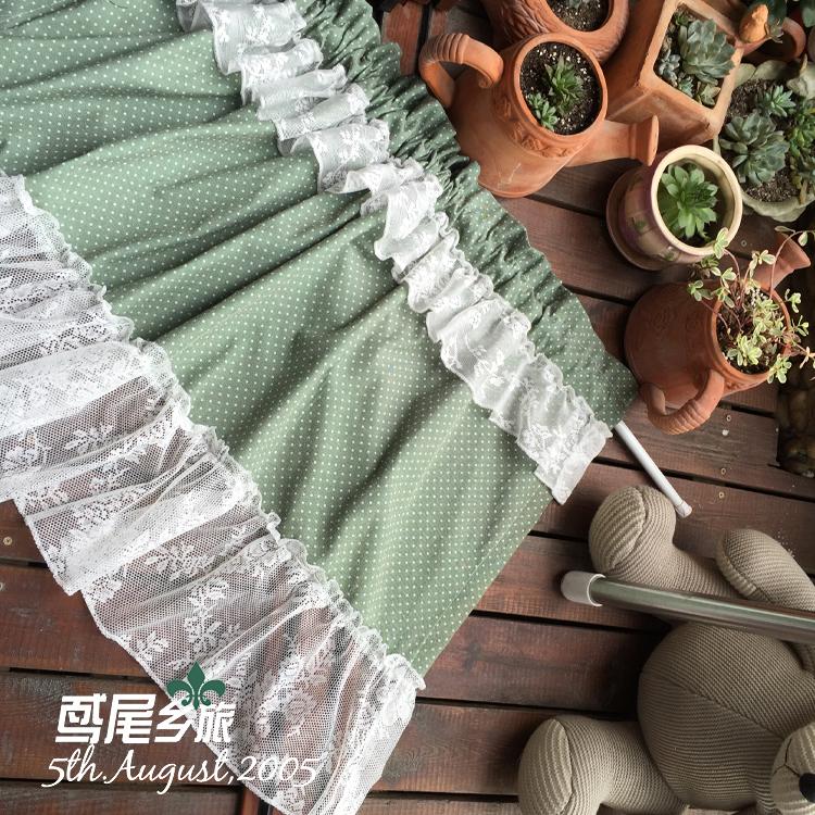 Cortinas de la cocina verde   compra lotes baratos de cortinas de ...