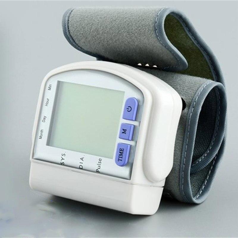 Цифров напълно автоматичен монитор за кръвно налягане на китката Сфигмоманометър CK-103