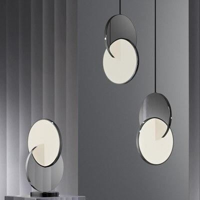 Colorful simple design customized funnel E27 and G4 Pendant Light Suspension Drop Modern Bar Restaurant Aluminum Pendant Lamp