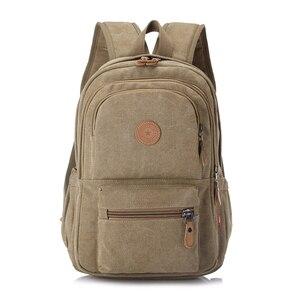 Image 2 - 2020 nowych moda w stylu Vintage człowieka plecak torba podróżna mężczyzna plecaki mężczyźni dużej pojemności torby szkolne na ramię