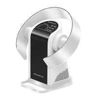 9 Files Leafless Electric Fan Circulating Fan Wall Mount Landing Desktop Household Remote Control Timing HD Display