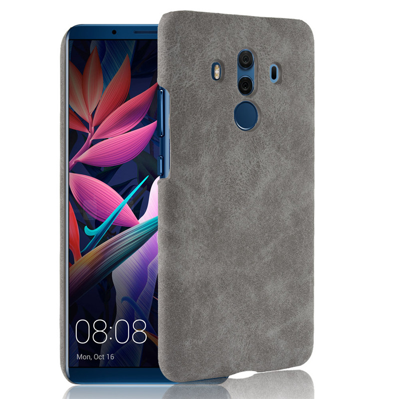 For Huawei Mate 10 Pro Case Huawei Mate 10 Pro Case PU Leather Hard Plastic Back Cover Phone Case For Huawei Mate10 Pro 6.0 Inch