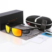BARCUR 2018 HD Men Brand Driving Polarized Sunglasses Sun Glasses Aluminum Magnesium oculos de sol male