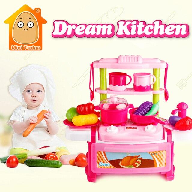 MiniTudou Küche Spielzeug Für Mädchen Jungen Klassische Kochen ...