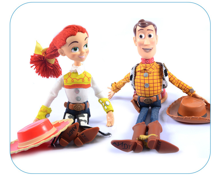 Toy Story 3 Talking Woody Jessie PVC Action Figure Collectible Model Doll Toys For Children Gift hot new 1pcs 18cm toy story 3 woody action figures pvc action figure model toys christmas gift toy