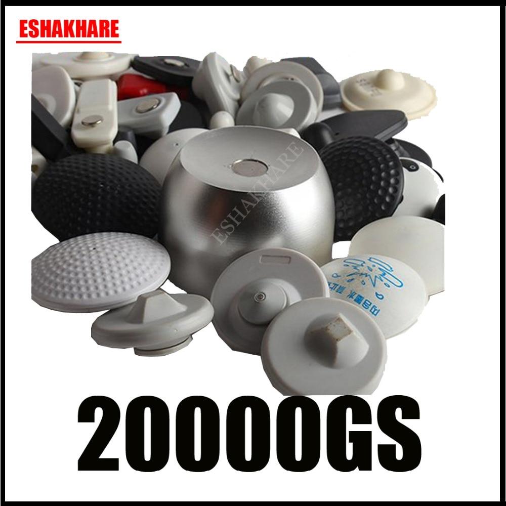 Universale eas separatore magnete di sicurezza tag separatore eas tag remover originale 20000GS inchiostro tag separatore di golf superlock separatore