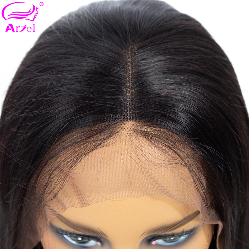 Bob Lace Front Wigs Short Straight Lace Front Human Hair Wigs Remy Hair Peruvian Bob Wig 13*4 Lace Wigs For Black Women Ariel-in Human Hair Lace Wigs from Hair Extensions & Wigs    1