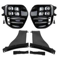 1 В пара 12 В автомобиля дневные ходовые огни DRL светодио дный фонари Противотуманные фары для Kia Sportage QL 2018 2016 высокое качество дневные ходовые