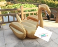 DHL SHIPPING giant inflatable swan+gold inflatable swan float pool 200cm+gold swan pool floats+flamingo+unicorn+Pegasus+pizza