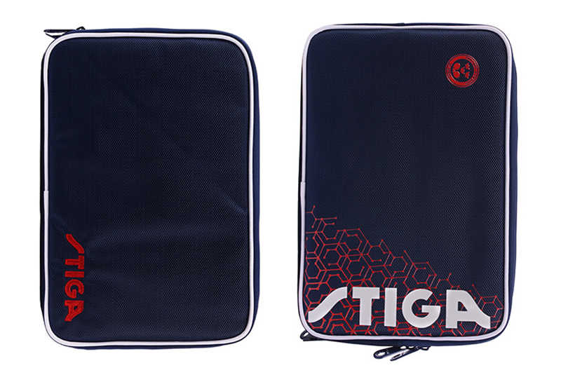 Bolsa de raquetas de tenis de mesa STIGA Original para entrenamiento profesional blade bat ping pong set de fundas tenis de mesa