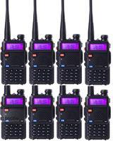 8 Pezzi Lottp Interphone Baofeng Uv 5r Walkie Talkie Vhf 136 174 Mhz UHF 400 520