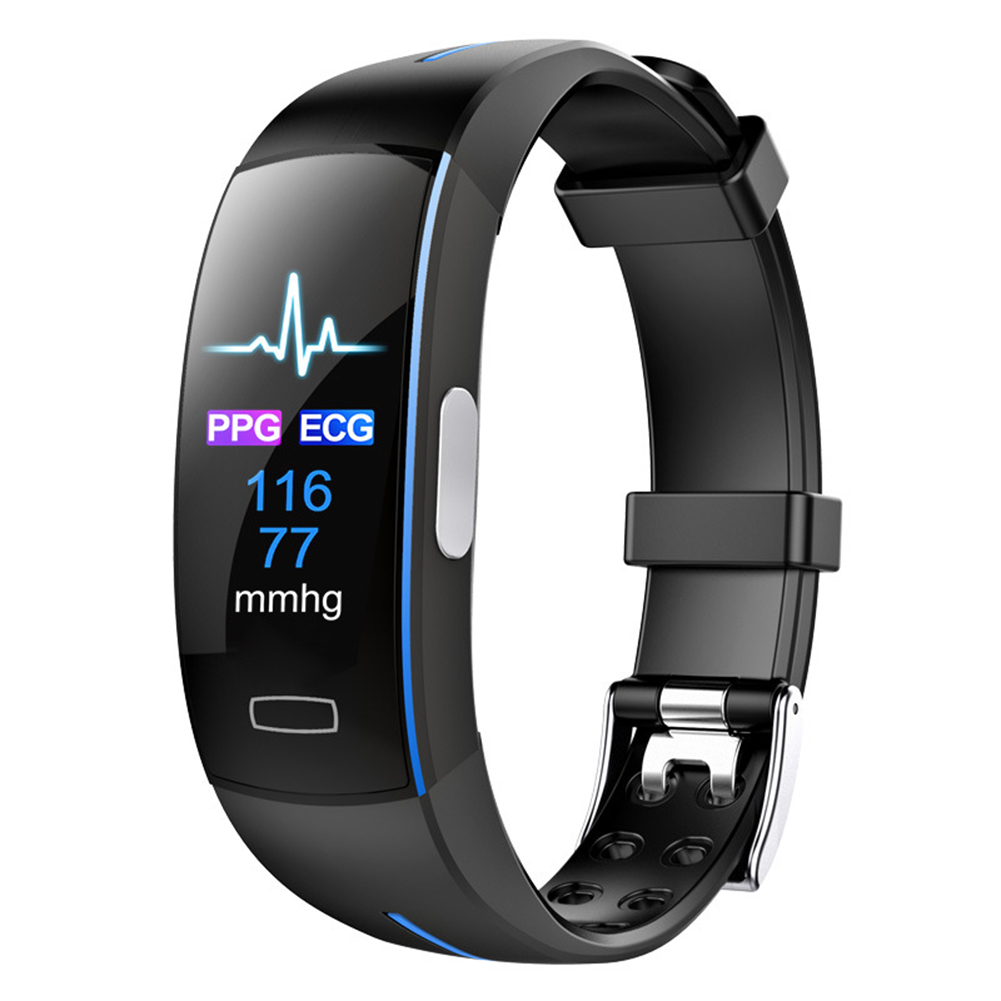 Original <font><b>P3</b></font> <font><b>Smart</b></font> <font><b>Band</b></font> ECG+PPG Blood Pressure Heart rate Monitor Pedometer Sports Bracelet for IOS Android IP67 waterproof image