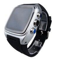 Смарт часы x01 телефон MTK6572 1.54 двухъядерный Встроенная память 4 г WI FI GPS 3G SmartWatch Android4.4 сим карты WCDMA водонепроницаемый g сенсор