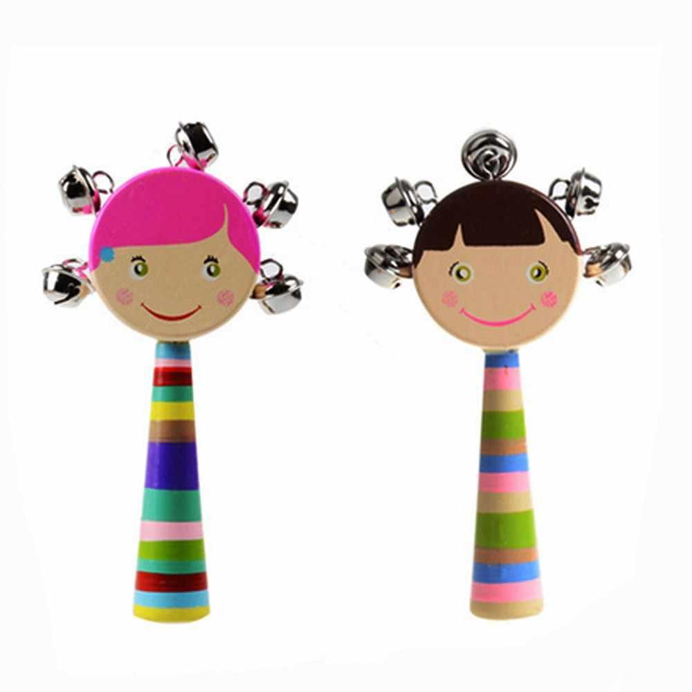 SAGACE (SAGACE) เด็กทารก Rattles & โทรศัพท์มือถือของเล่นเด็กเด็กวัยหัดเดินเด็กเล่นมือถือการศึกษายิ้มตุ๊กตากระดิ่ง 19Apl3
