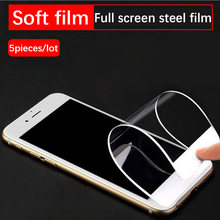 For Huawei enjoy 8 plus/Y9 2018 mobile phone tempered film full screen cover silk screen soft film explosion-proof HD(China)