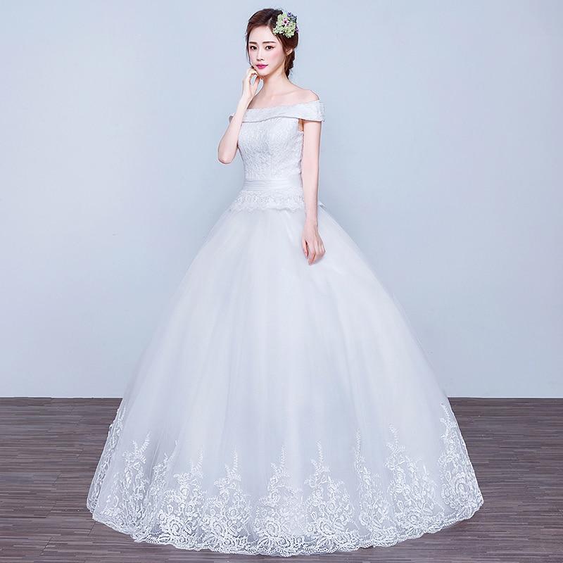 Simple Wedding Dress Europe: LC502 Wedding Dress 2016 Spring European Style Simple