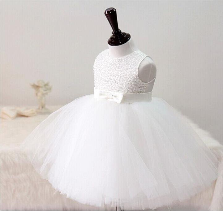 Free Shipping Retail Girl Dresses Children Dress Party Summer Princess Baby Girl Wedding Dress Birthday Off white Color 9070 retail girls dress princess wedding dress girl party dress children s clothes 8 colors girl dress free shipping p56