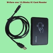 Новый USB RFID 13.56 МГц IC Card Reader Безопасности Высокое Качество нет Привод Программное Обеспечение Нужно Поддержка Win8 Бесплатная Доставка С Отслеживать Нет