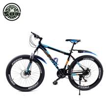 Mountain Bike Aluminum mountain bike 21 speed bicycle 24/26 inch variable speed mountain bike dual disc brakes