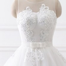 Ruthshen Crystals Appliques Ball Gown/Wedding Dress
