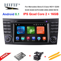 wo Din Car Multimedia Player Android 8.1 DVD Player For Mercedes/Benz/E Class/W211/E300/CLK/W209/CLS/W219 GPS Radio 16GB