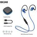 Plextone bx240 sweatproof esportes fone de ouvido bluetooth estéreo sem fio fone de ouvido música baixo com microfone para xiaomi iphone samsung