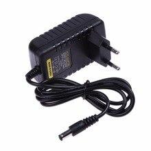 Adaptador de fuente de alimentación de 100 240V, enchufe de la UE, conversor de CA y CC de 6V, 1A, 1000Ma, cargador de 5,5x2,5mm