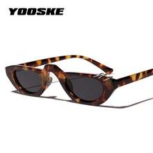 YOOSKE Fashion Cat Eye Sunglasses Women Brand Luxury Men