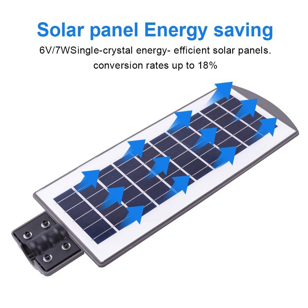 Solar À Prova D' Água Led De