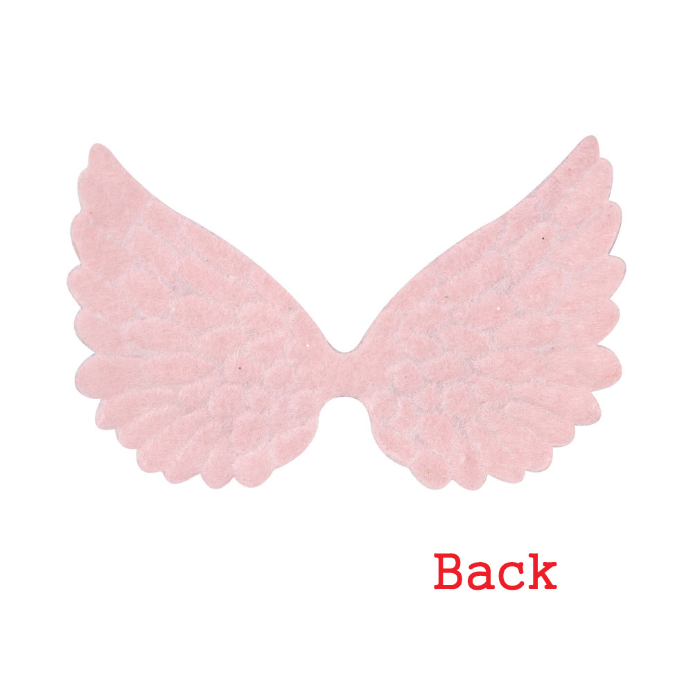 10X Glitter Angel Wings for hair bow accessories DIY craft scrapbooking decor WN