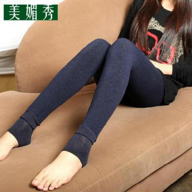2016 New Super Warm Winter Velvet Leggings With Thickened Cotton Antipilling Colorful Thickening Free Shipping