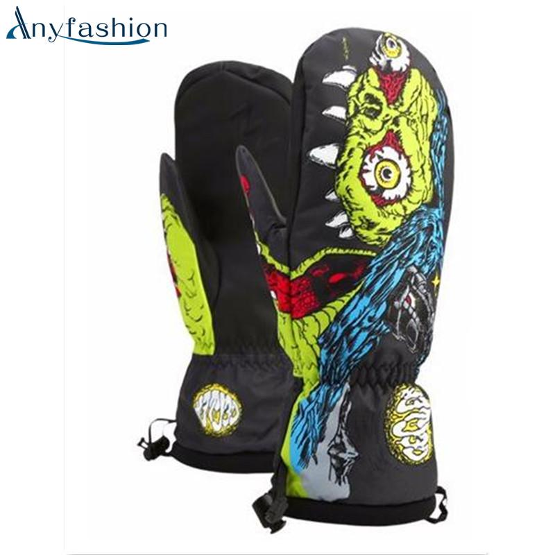 Prix pour Anyfashion Hiver thermique Gants de Ski Imperméable À L'eau/Cool-résistant Snowboard gants Hommes/Femmes guantes pour ski/Snowboard