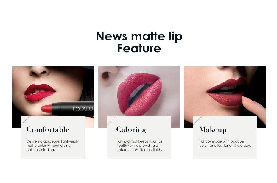 FOCALLURE Matte lipstick (7)