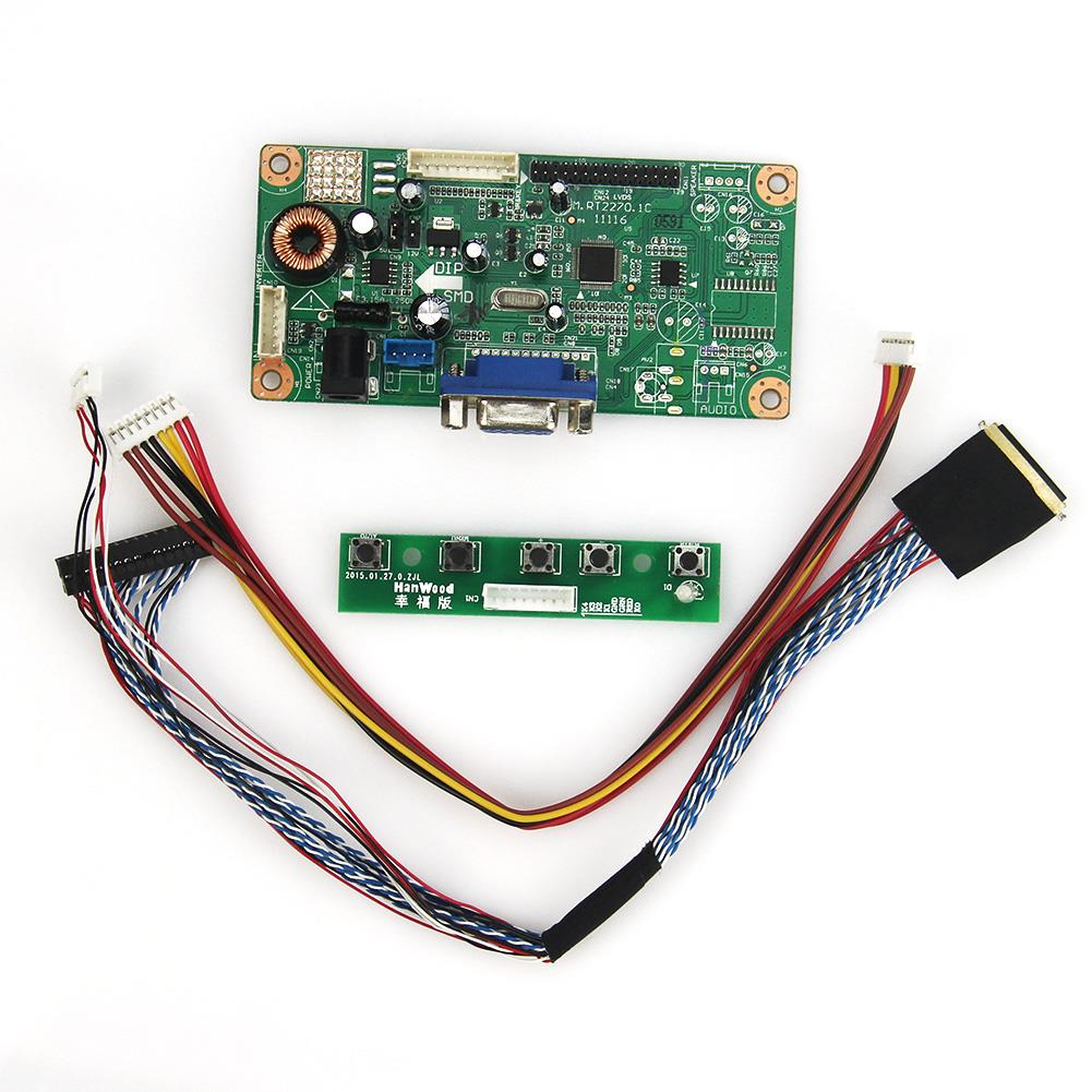 M.RT2270  LCD/LED Controller Driver Board(VGA) LVDS Monitor Reuse Laptop 1024x600 For LTN101NT02 B101AW03