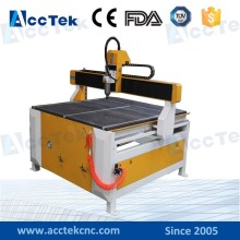 Jinan AccTek sales promotion! 3axis AKG1212 MINI marble brass , copper milling cnc wood lathe machine price