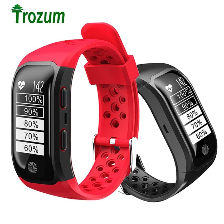 S908 Bracelet intelligent Sport bande GPS activité Tracker Bracelet moniteur de fréquence cardiaque Fitness Bracelets appareils portables Smartband