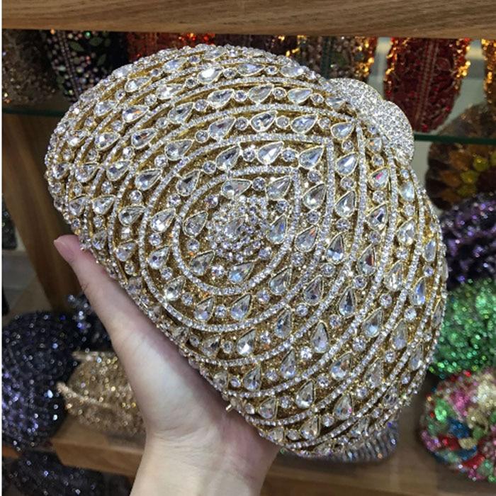 Crystal diamond black pink red gold silver Purse Evening Clutch Bag Bridal Diamond Clutch purses Wedding
